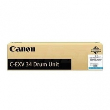 Фотобарабан Canon C-EXV34 (Drum Unit) (3788B003BA), красный