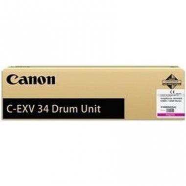 Фотобарабан Canon C-EXV34 (Drum Unit) (3786B003BA), черный