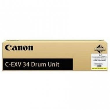 Фотобарабан Canon C-EXV34 (Drum Unit) (3789B003BA), желтый