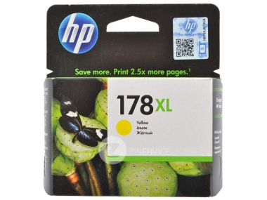 Картридж HP 178XL (CB325HE) жёлтый